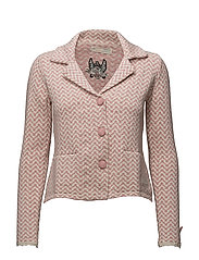 symphony cardigan - BRIDAL ROSE