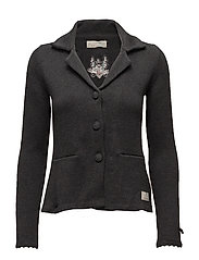 symphony cardigan - ALMOST BLACK