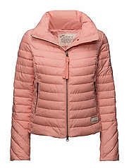 downfall jacket - CORAL ALM