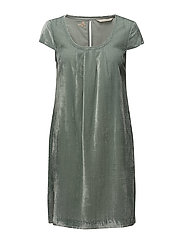 absolute dress - AQUA GREY