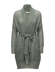after hours cardigan - MISTY GREEN