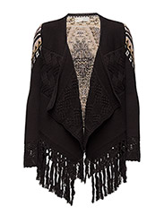 palisades cardigan - LIGHT ALMOST BLACK