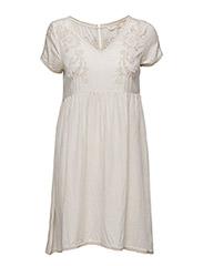 seashell dress - LIGHT PORCELAIN