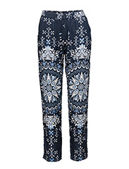 knock-out pants - DARK BLUE