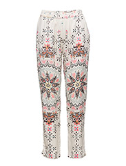 knock-out pants - PINK MULTI