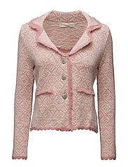 happy tribe cardigan - MISTY PINK