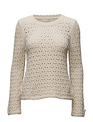 harmony knit - CHALK