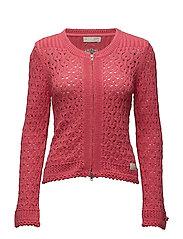 harmony knitted jacket - DESERT ROSE