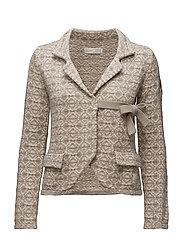lovely knit jacket - LINNEN