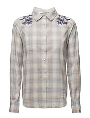 howdy l/s shirt - PALE BLUE