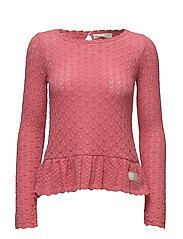 carmel sweater - DESERT ROSE