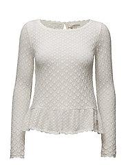 carmel sweater - LIGHT CHALK