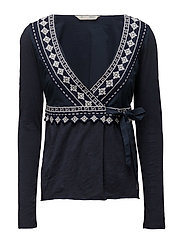 get-a-way l/s top - DARK BLUE