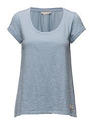 come run with me t-shirt - SHIRT BLUE