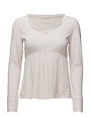 our town l/s top - SOFT ROSE