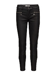 eagle rock trousers - ALMOST BLACK