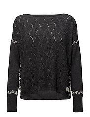 road runner sweater - ALMOST BLACK