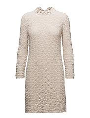 holy molly dress - LIGHT PORCELAIN