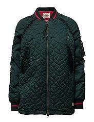 downtown jacket - DARK EMERALD