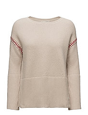 stunning sweater - LIGHT PORCELAIN