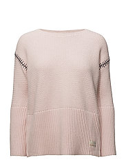 stunning sweater - SOFT ROSE