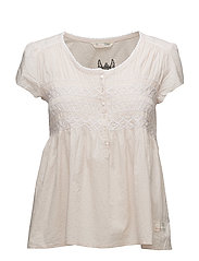 longing for s/s blouse - WARM SHELL