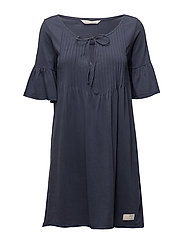 jersey girl dress - DARK BLUE