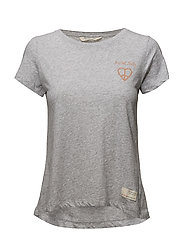 graphictude t-shirt - LIGHT GREY MELANGE