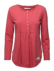 jersey girl l/s top - RASPBERRY