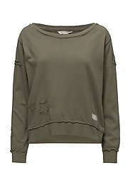 honey sweet sweater - CARGO GREEN
