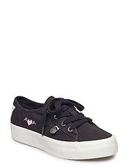 pedestrian sneaker - ALMOST BLACK
