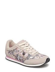 lace up trainer - LIGHT PORCELAIN