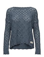 mollywood sweater - CHINA BLUE