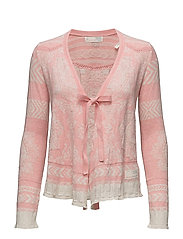 buzzard cardigan - LIGHT CORAL