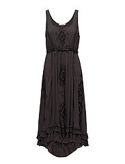 yea shore dress - BLACK LAVA