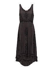yea shore dress - BLACK LAVA