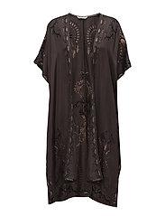 dolomite kimono - BLACK LAVA