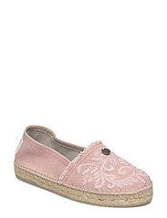 oddspadrillos embroidered - MID PINK