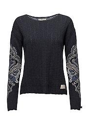 breakpoint sweater - DARK BLUE