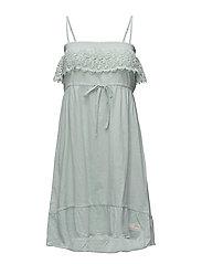singoala-la dress - MISTY GREEN