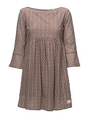 blousy dress - DESERT SAND