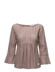 blousy blouse - DESERT SAND