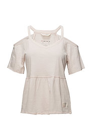 power lover top - SOFT ROSE