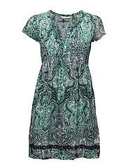 beauty call dress - GREEN MIST