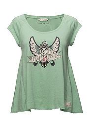 rock star t-shirt - LIGHT GREEN