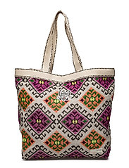 all day beach bag - MULTI