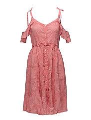 clever heart dress - SOFT RASPBERRY
