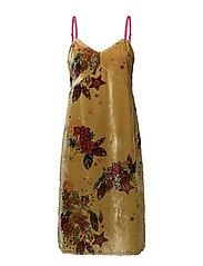 chichi dress - HONEY GOLD