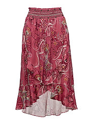 delicate skirt - RASPBERRY