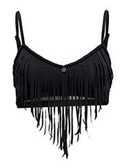 beach party bikini top - ALMOST BLACK